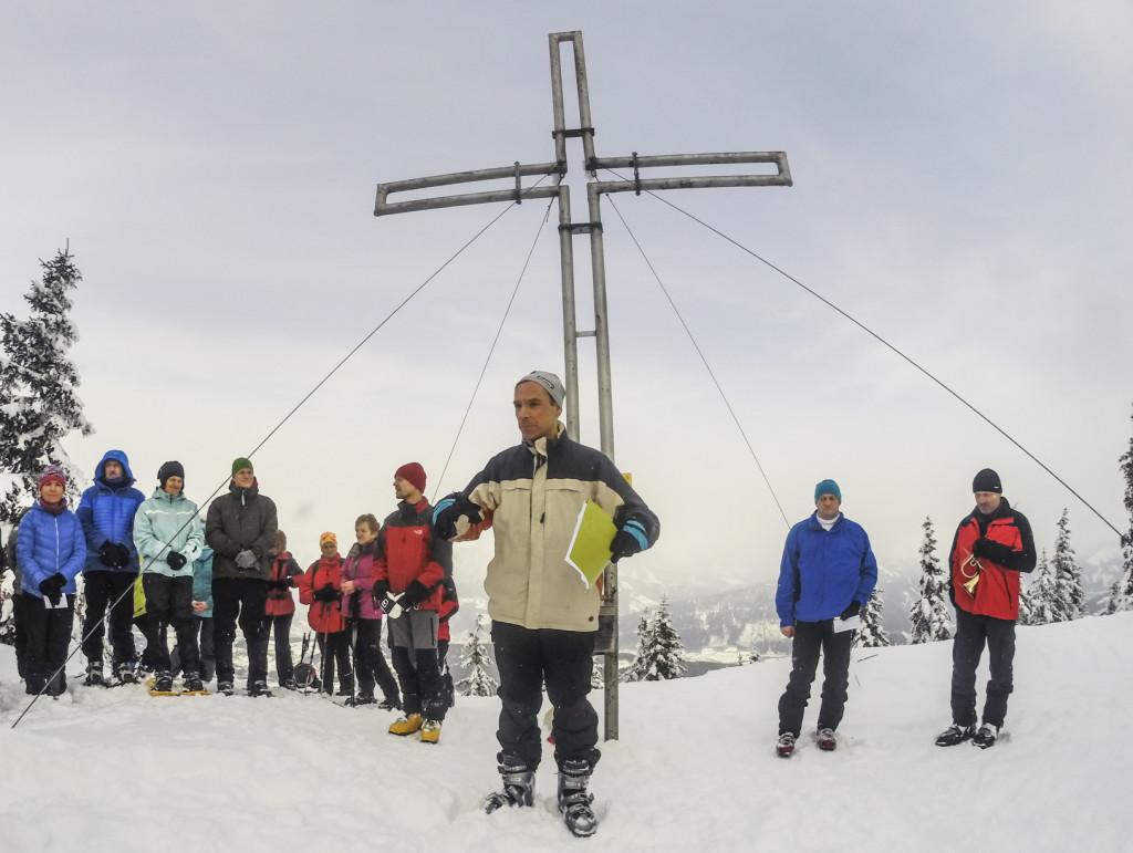 Bergmesse Blosen28.01.2015